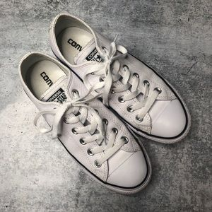 Converse Chuck Taylor All Star White Leather Lo